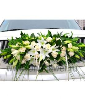 Украшение цветами №23 - Доставка и заказ цветов - UniFlower