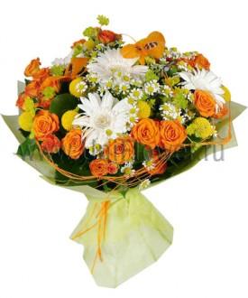 Букет роз «Анжелика»