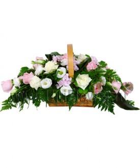 Корзина роз «Мелодия»