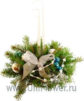 Рождество - новогодняя композиция