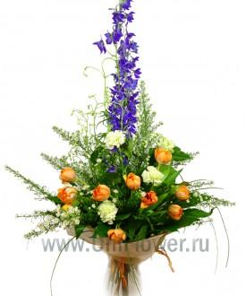 Букет тюльпанов «Primavera»
