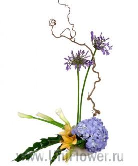 Лагуна - букет из экзотических цветов