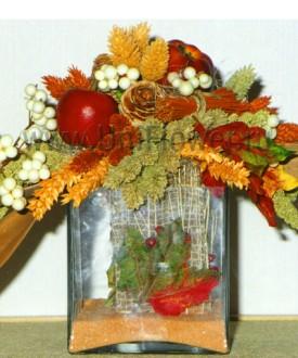 Осенний блюз - композиции из сухоцветов