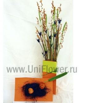 Полевая - композиция из сухоцветов