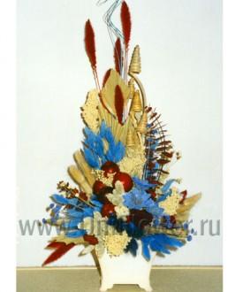 Афина - композиции из сухоцветов