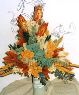 Сулико - композиции из сухоцветов