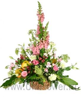 Юнона - букет из экзотических цветов