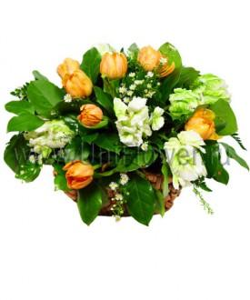 Букет тюльпанов «Двенадцать месяцев»