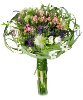 Букет невесты №20 - букет из экзотических цветов