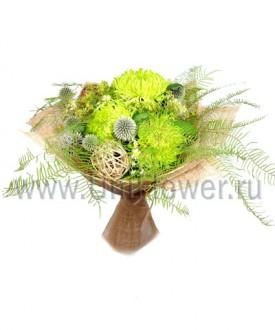 Колдунья - букет из хризантем