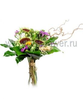 Айседора - букет из экзотических цветов