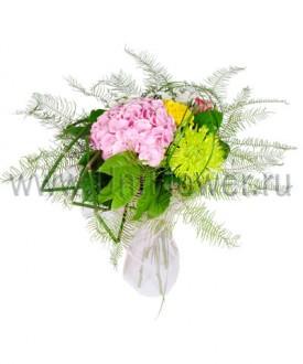 Прелюдия - букет из экзотических цветов