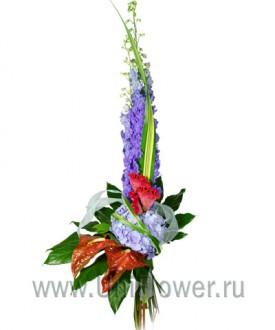 Стокгольм - букет из экзотических цветов