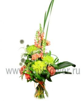Эталон - букет из хризантем