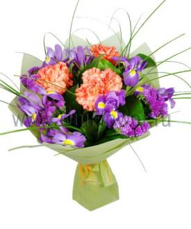 Привет - букет из экзотических цветов