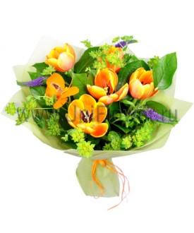Букет тюльпанов «Шутка»