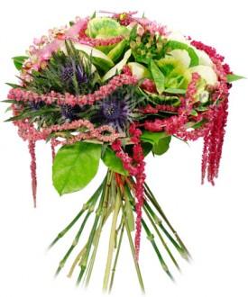 Аделаида - букет из экзотических цветов