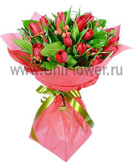 Букет тюльпанов «Сказка»