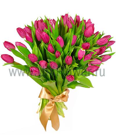 Букет тюльпанов «Виктория»