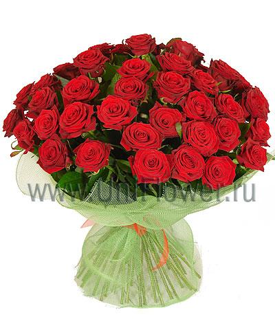 Букет 51 роза Гран При