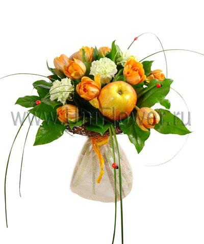 Букет тюльпанов «Сюрприз»