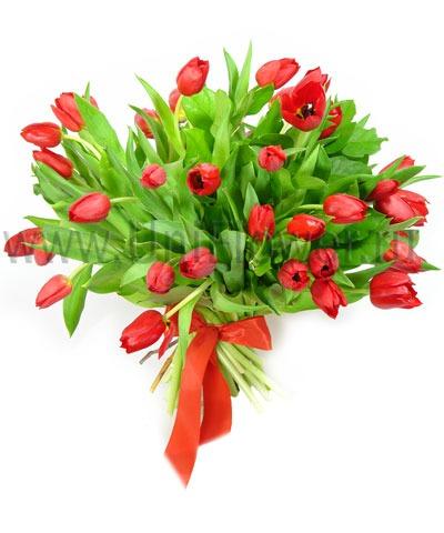 Букет тюльпанов «Аленький цветочек»
