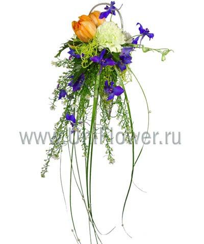 Букет тюльпанов «Цветные сны»