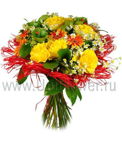 Букет роз «Арлекино»