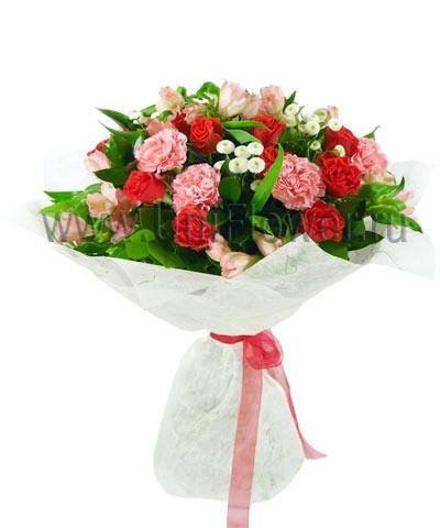 Букет роз «Барышня»