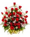 Корзина 45 роз «Милый друг»